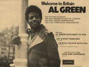 Al BGreen advert