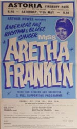 Aretha Franklin flyer