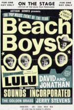 Beach Boys Tour Poster