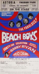 Beach Boys flyer