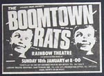 Boomtown Rats Poster