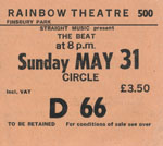The Beat ticket