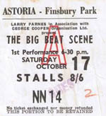 Big Beat Scene ticket