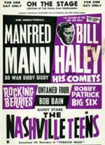 Manfred Mann/Bill Haley Poster