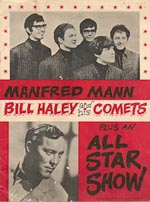 Manfred Mann/Bill Haley programme