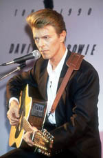 David Bowie at Press Conference
