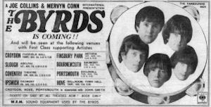 The Byrds flyer
