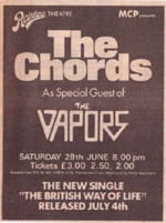 Chords Vapors advert