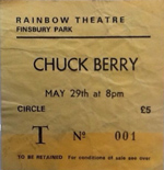 Chuck Berry ticket