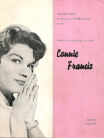 Connie Francis programme