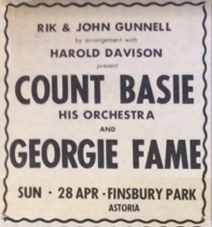 Count Basie advert