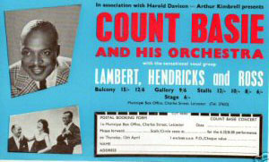 Count Basie Flyer