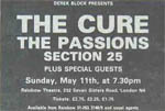 Cure press advert