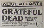 Grateful Dead Press Advert