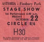 Gene Pitney ticket