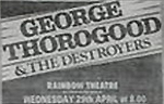 Georgar Thorogood advert