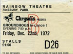 Groundhogs ticket