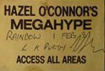 Hazel O'Connor Pass