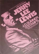 Jerry Lee Lewis Poster