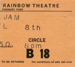 The Jam ticket