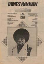 James Brown Press Advert