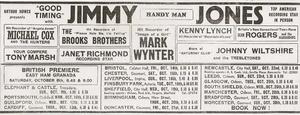 Jimmy Jones flyer