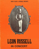 Leon Russell programme