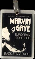 Marvyn Gaye crew Pass