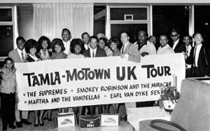 Motown uk Tour Artists