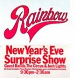 Surprise New Year Eve Show Poster