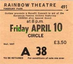 Osibisa ticket
