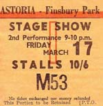 Stax Review Ticket