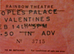 Peoples Palace ticket