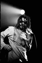 Peter Tosh on stage