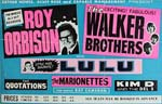 Roy Orbison Tour Poster