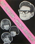 Roy Orbison Walker Bros Tour Programme