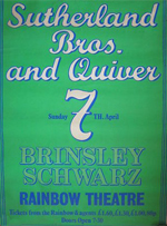 Southerland Bros. & Quiver poster