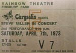 Steve Miller Band ticket