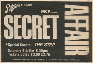 Secret Affair Advert