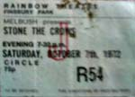 Stone the Crows Ticket