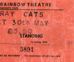 The Stray Cats ticket