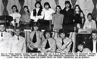 Swinging 66 tour artists