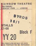 Byrds Ticket