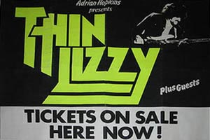 Thin Lizzy Poster