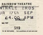 The Twinkle Brothers ticket