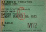 Uriah Heep ticket