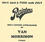 Van Morrison advert