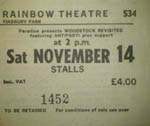 Woodstock Revisited ticket