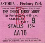 Berry show stalls ticket