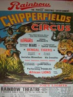 Chipperfields Circus Poster